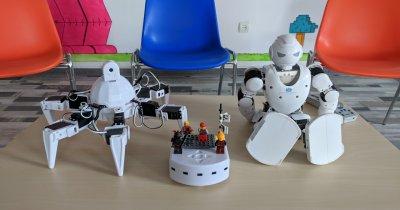 RoboHub: cursuri gratuite de robotică pentru copiii cu burse sociale