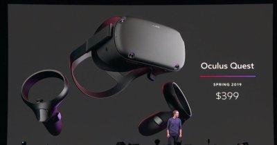 Oculus Quest, dispozitivul VR care te urmărește în cameră