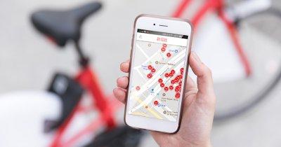 Aplicația de bike sharing de la Pegas, preluată de un alt dezvoltator