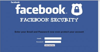 Campanie de phishing pe Facebook