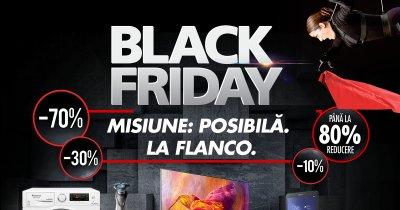 Black Friday 2018 la Flanco - trei săptămâni de reduceri la produse