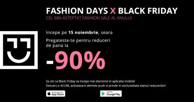Black Friday 2018 la Fashion Days: idei pentru shopping