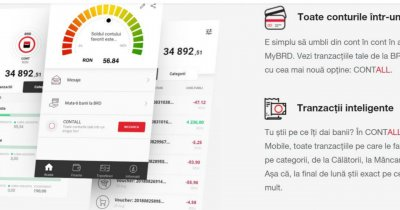 BRD îți aduce conturile mai multor bănci într-o singură aplicație