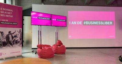 Telekom susține 10 companii cu o sumă totală de 200.000 de euro