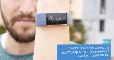 Review Fitbit Charge 3: secretul de la încheietură