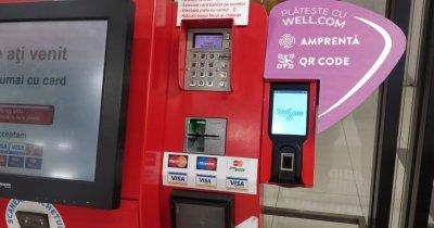 Clienții Auchan pot plăti cumpărăturile prin autentificare cu amprenta