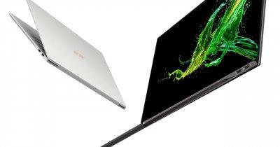 CES 2019: a fost prezentat cel mai subțire laptop din lume