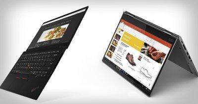 CES 2019: Lenovo Thinkpad X1 Carbon și X1 Yoga, prezentate oficial