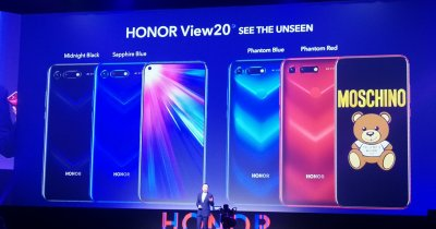 Honor View 20, lansat oficial pe piața din Europa