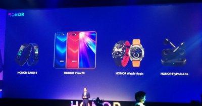 Evenimentul cu 4 lansări Honor: telefon, brățară, smartwatch și căști