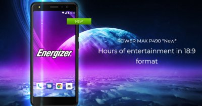 MWC 2019: un brand de baterii vine cu un telefon pliabil