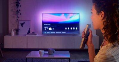 Bătalia asistenților digitali pe noile televizoare Philips din 2019