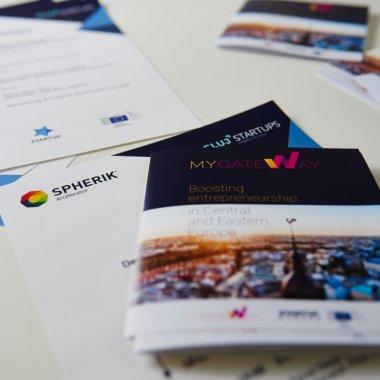 Spherik aduce Startup Europe Week în România