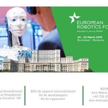 Bucureștiul, capitala europeană a roboticii între 20-22 martie