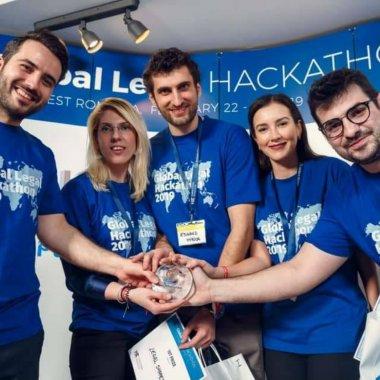 Românii de la Legal Shapers, în finala Global Legal Hackathon 2019