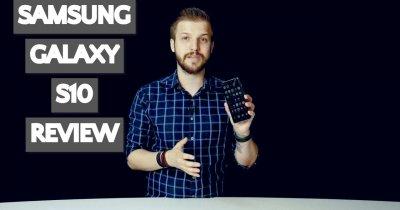 Review Samsung Galaxy S10 - cel mic este și cel mai bun