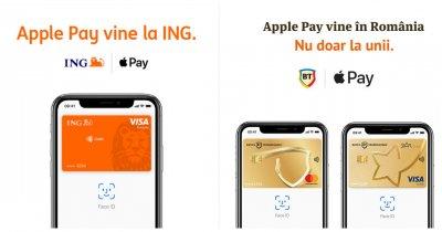 BT, ING Bank și Orange anunță Apple Pay în România