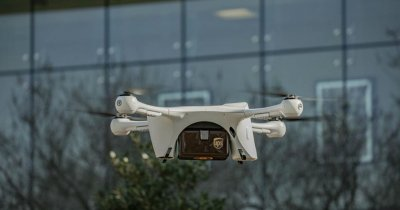 Dronele, folosite pentru livrarea de probe medicale