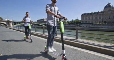 Trotinetele Lime, lansare în București. Parteneriat cu Primăria