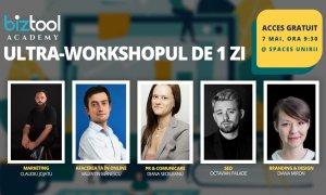 BizTool Academy, ultra-workshop gratuit: înscrieri până pe 3 mai