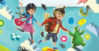Kasper, sky și ursul cel verde îi învață pe copii despre internet