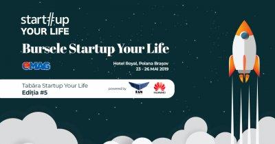 Bursele Startup Your Life by eMAG: locuri pentru cei mai buni studenți