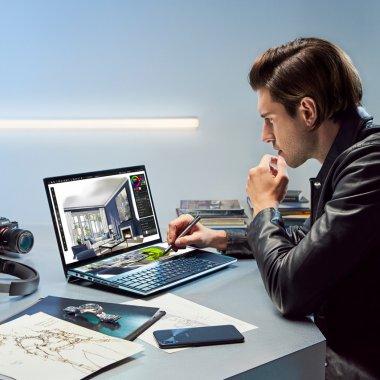 Asus prezintă laptopul cu două ecrane