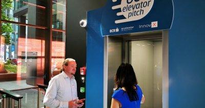 Conversație în lift cu cele mai bune 10 startupuri de la BCR InnovX