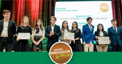 Liceeni din București, în finala globală a Social Innovation Relay