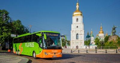 Autocarele Flixbus leagă Ucraina de vecinii din Vest