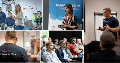 Eveniment gratuit Google pentru IMM-uri și startup-uri