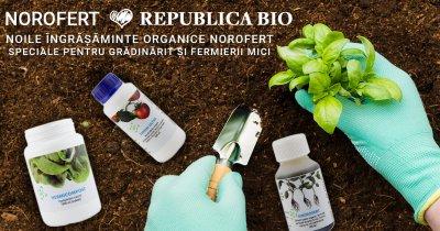 Norofert, linie de produse pentru grădinarii amatori