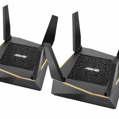 ASUS AiMesh AX6100 Wi-Fi e un sistem cu două routere