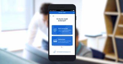 BCR promite credite online prin George. Primul test, efectuat.