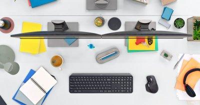 Logitech prezintă un mouse și o tastatură premium pentru birou