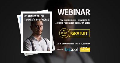 BizTool.ro, webinar gratuit: învață să comunici pe limba oricui