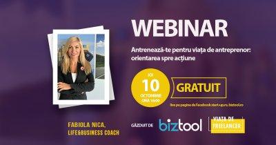 BizTool.ro, webinar gratuit: antrenează-te pentru viața de antreprenor