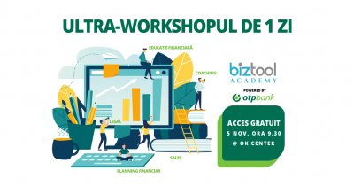 BizTool Academy, ultra-workshop de planificare financiară în București