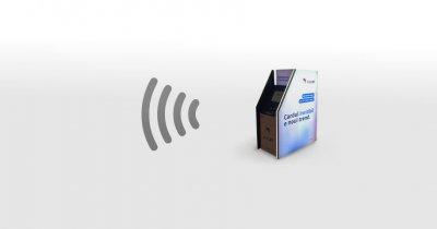 Banca Transilvania a instalat primul său bancomat 100% contactless