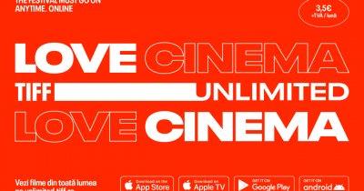 TIFF Unlimited pe iOS și Android. Abonament la filme de festival