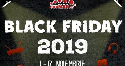 evoMAG Black Friday 2019: A doua rundă de reduceri