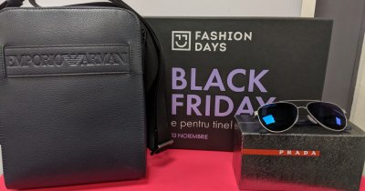 Black Friday 2019 la Fashion Days începe miercuri dimineața