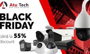 Black Friday la Atu Tech: reduceri la sisteme de securitate