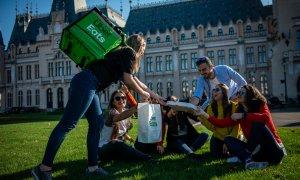 Uber Eats, extindere în România: se lansează la Iași