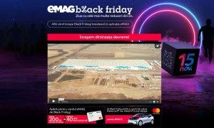 eMAG - Site-ul a fost deschis la ora 7.26 de Black Friday 2019