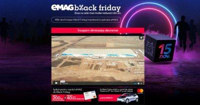 eMAG - Numărătoarea inversă până la Black Friday - site-ul, închis
