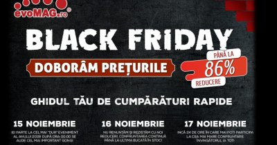 Cele mai bune oferte de Black Friday la evoMAG