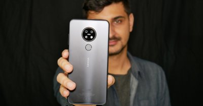 REVIEW Nokia 7.2, un telefon midrange cu finisaj premium