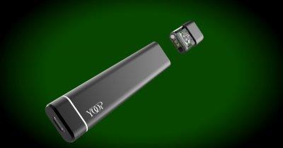 Yoop: Țigara electronică românească cu extract de canabis (CBD)