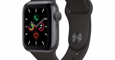 Apple Watch Series 5 Cellular cu eSIM, disponibil la Orange